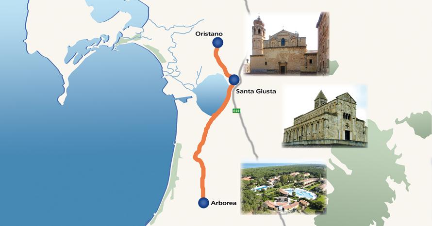 Cartina Sardegna Oristano.A Href Http Stradafacendo Tgcom It Stradafacendovedrai Home Piccola Grande Italia A Sardegna 1 Strada Facendo